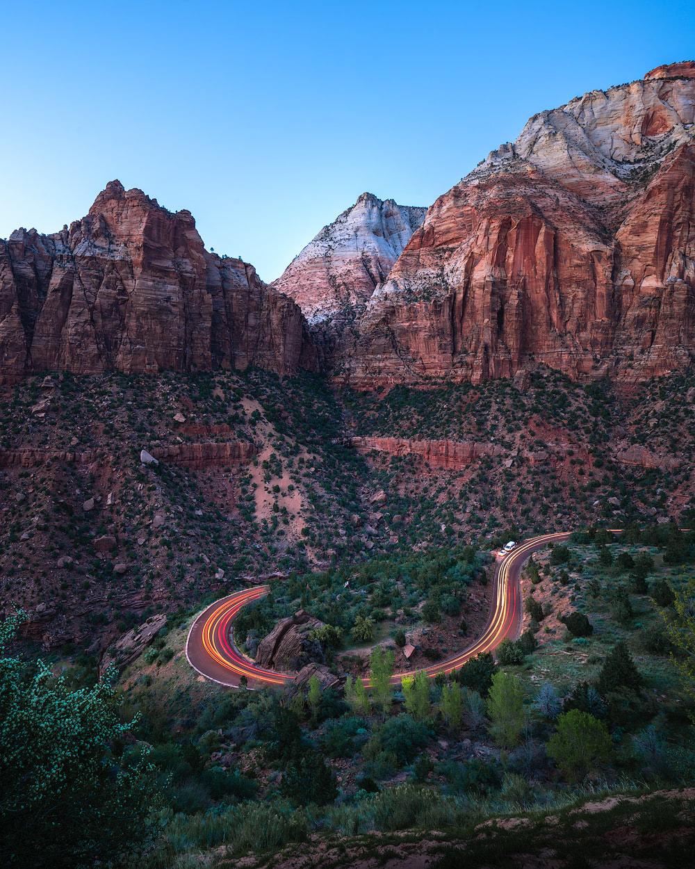 Canyon Road View