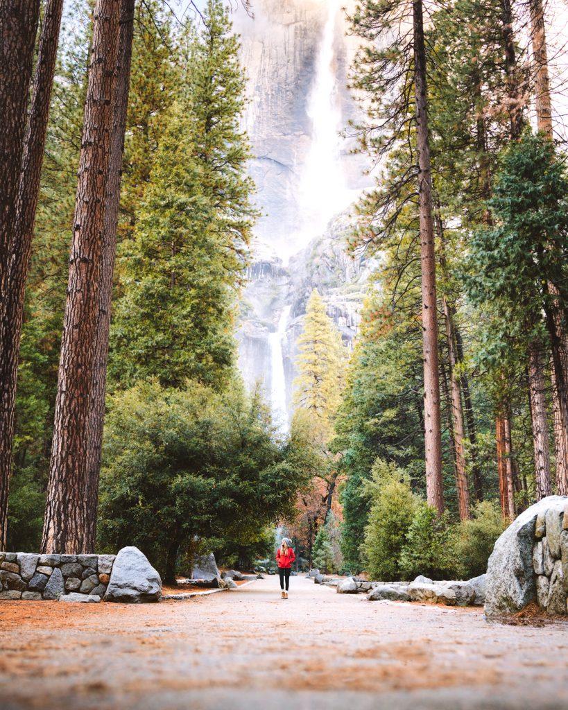 visiting yosemite national park california