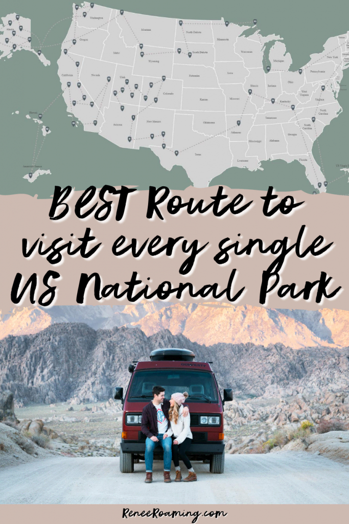 Best Route to Visit Every Single US National Park - Renee Roaming