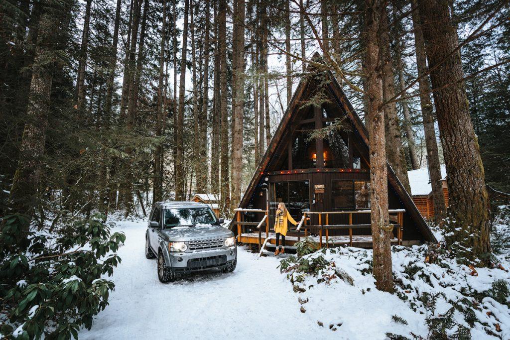 Cozy Cabins to Rent in Washington State - Foss Haus - Renee Roaming