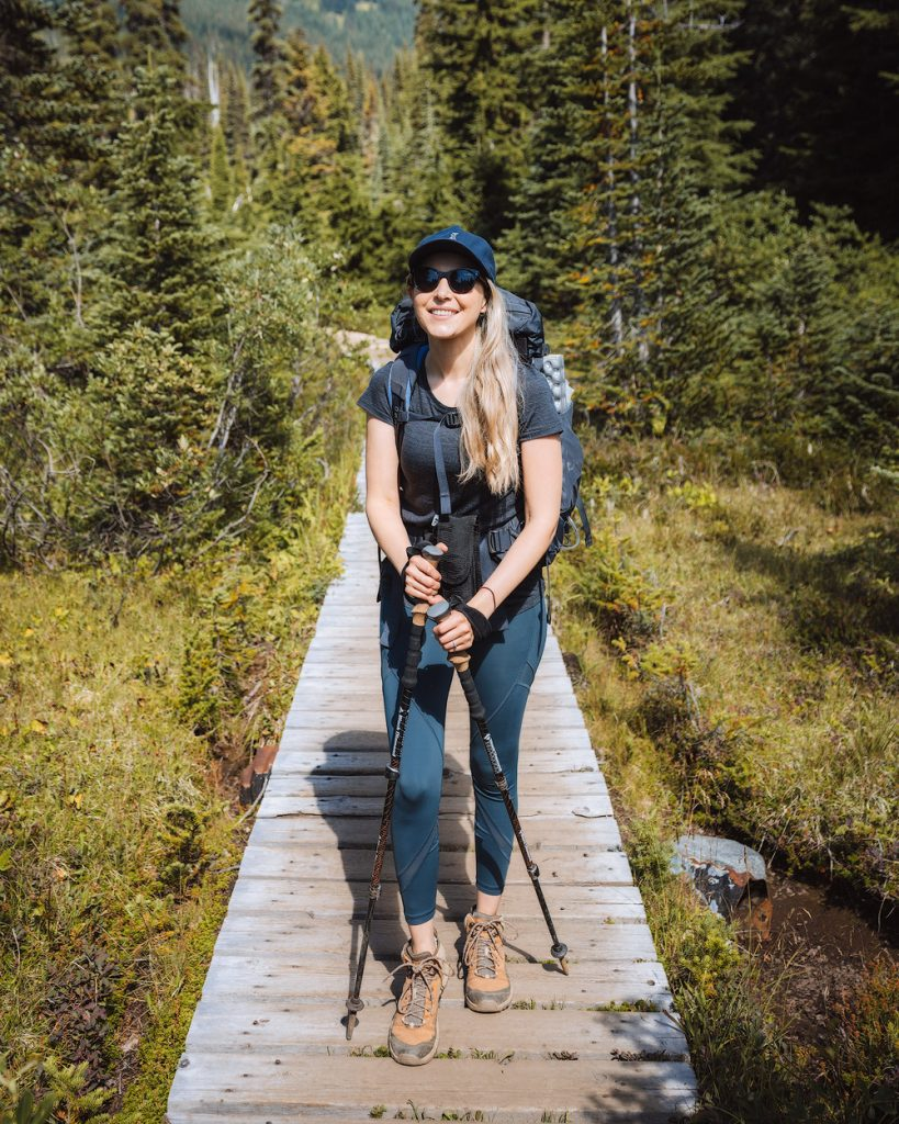 Introduction to Bear Safety when Hiking and Camping - hiking with bear spray in Garibaldi Provincial Park