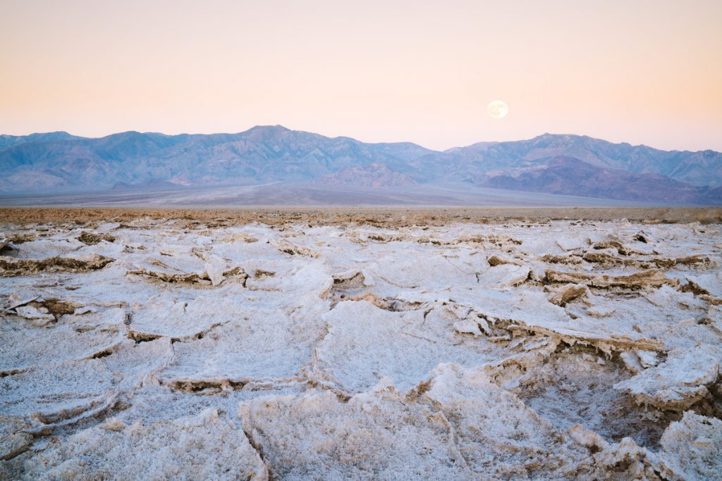 12 Best National Parks To Visit In The Fall - Death Valley National Park Salt Flats
