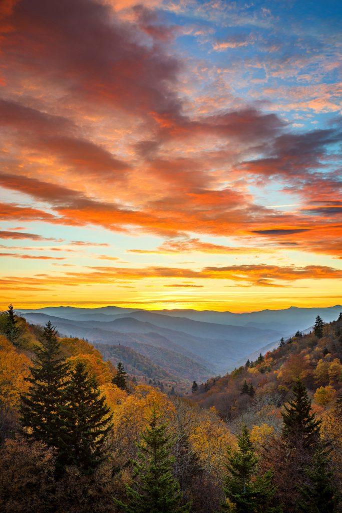 12 Best National Parks To Visit In The Fall - Great Smoky Mountains National Park