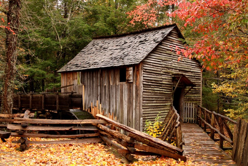 Great Smoky Mountains National Park Cades Cove Mill