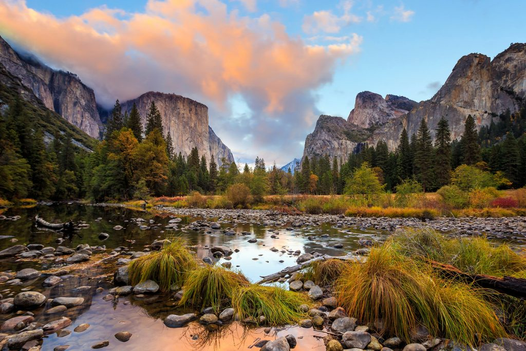 12 Best National Parks To Visit In The Fall - Yosemite National Park Valley View