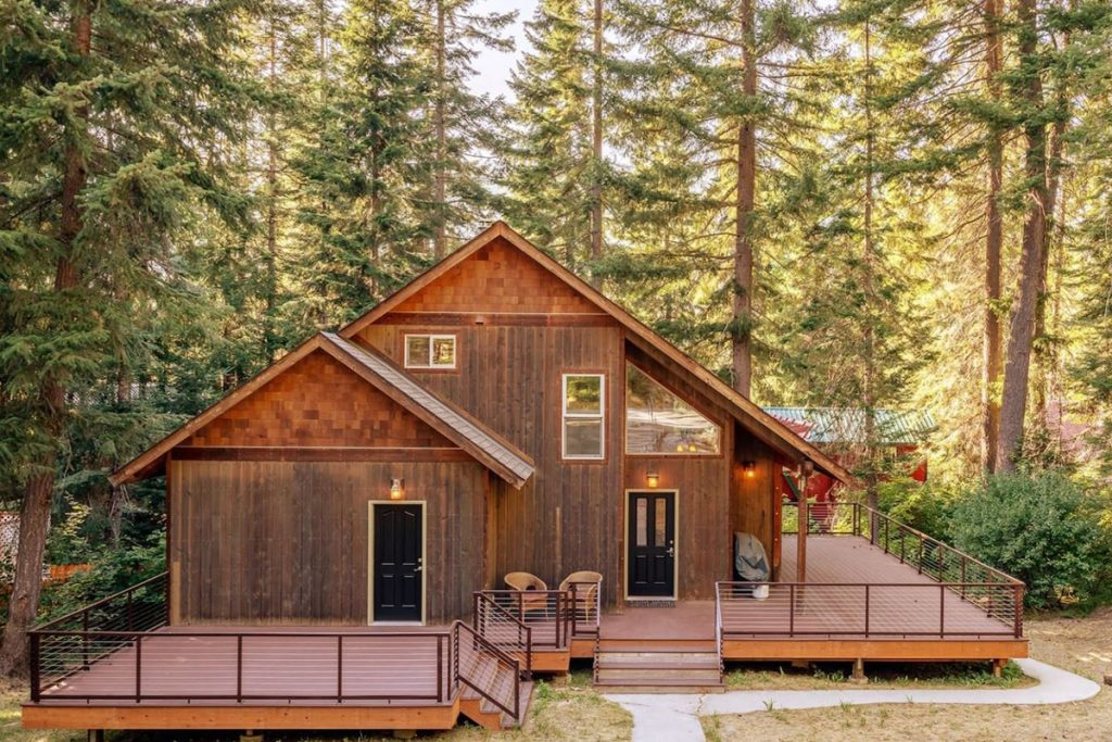 Cozy Cabins to Rent in Washington State - Tranquil Haven - Renee Roaming