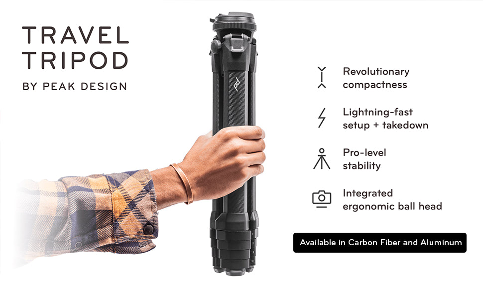 Peak Design Travel Tripod