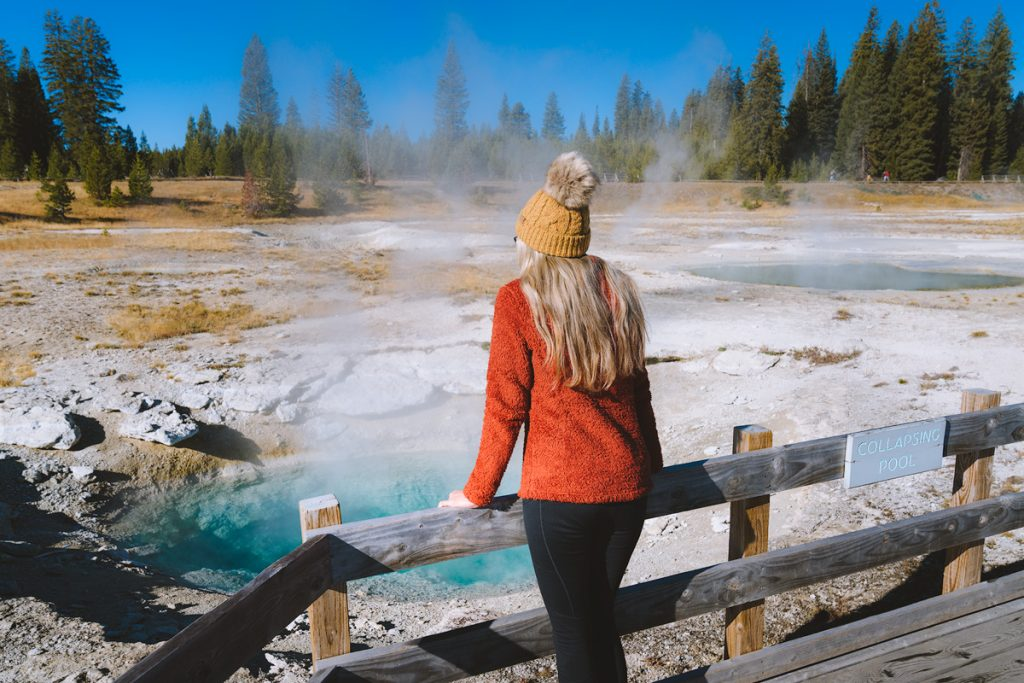 Ultimate Yellowstone National Park Guide and Itinerary- West Thumb Geyser Basin Pool