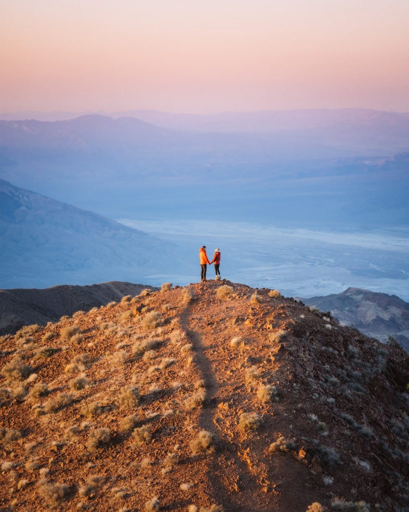 12 Best National Parks to Visit in Winter - Death Valley National Park Dantes View