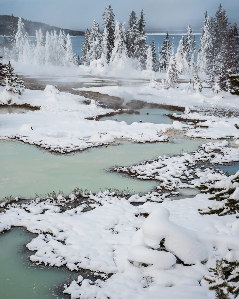 12 Best National Parks to Visit in Winter - Yellowstone National Park