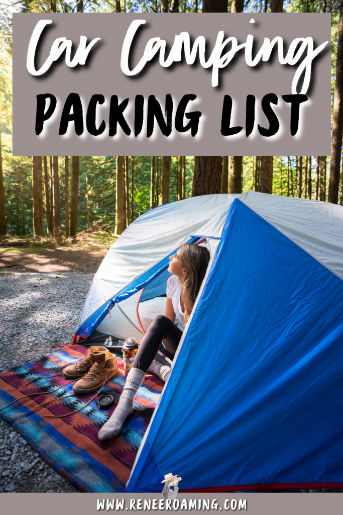 Car camping is such an amazing way to experience nature without having to work too hard for it. You can pack more luxury gear as opposed to backpacking, and you can just drive right up to your camping spot! When starting out car camping it can be a little confusing what to pack. In this guide, I am sharing a thorough car camping essentials list, including a printable checklist to make packing a breeze! | Car camping packing list | What to pack camping | #camping