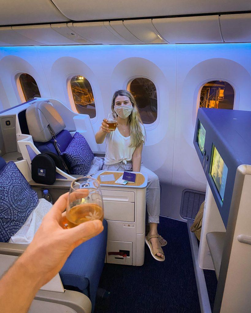 How To Plan A Trip To Tahiti Flying Air Tahiti Nui Business Class