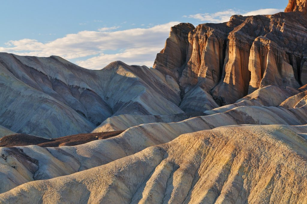 Visiting Golden Canyon and Gower Gulch