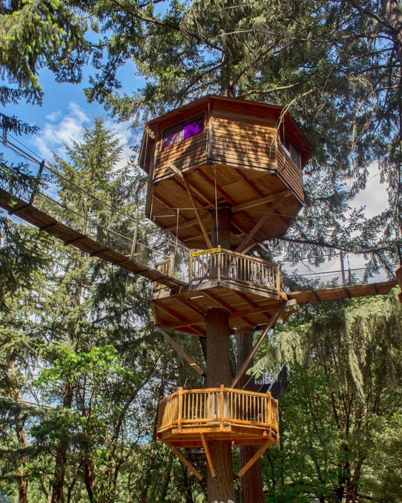 20 Magical Oregon Treehouses You Can Rent - Majestree Oregon Treehouse
