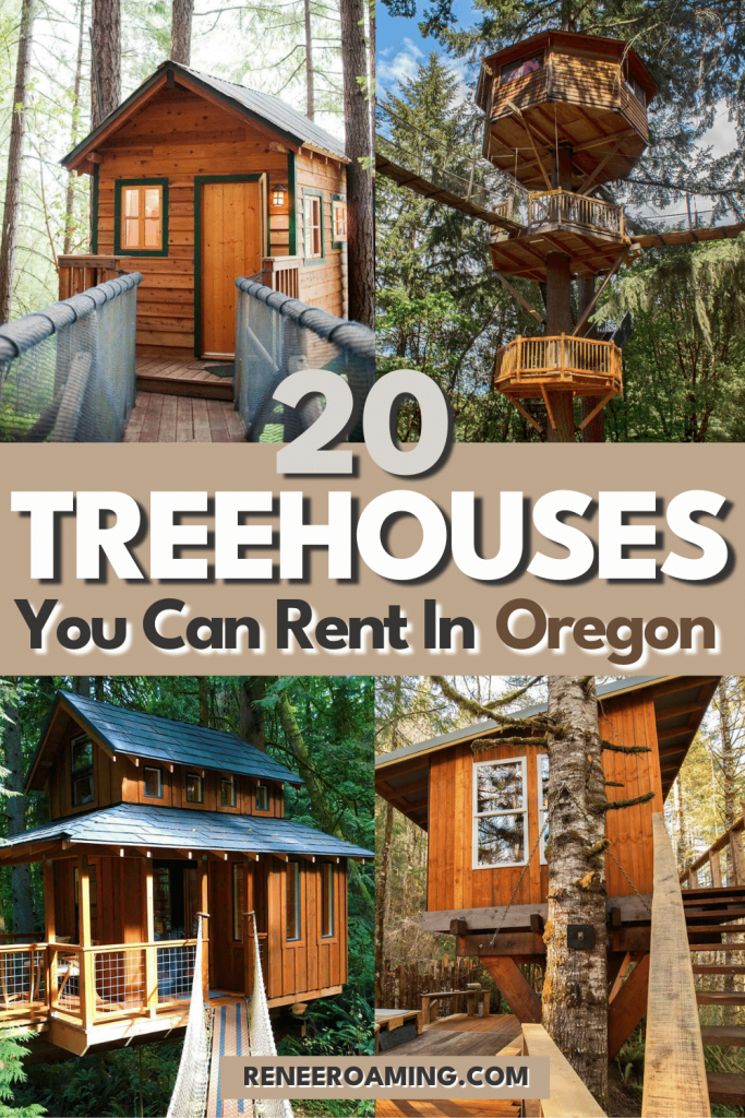 If you spent hours daydreaming as a kid about living in a treehouse, you were not alone! You might just be surprised at how different the treehouses you can rent in Oregon can be. From treehouses with ocean views to those in the city, and EVEN treehouse communities, bring your childhood dreams to life by booking a stay at one of these 20 Oregon treehouses!   Best treehouses in Oregon   Pacific Northwest treehouses   Oregon cabins   #Oregon #Treehouse #Cabin