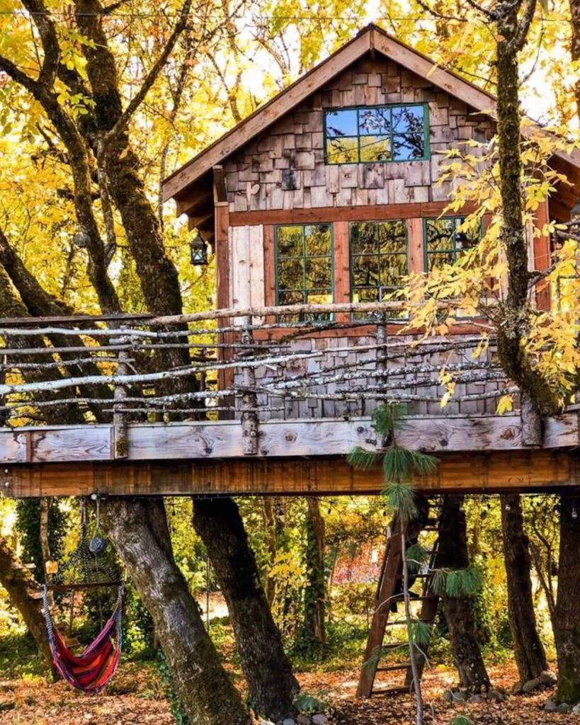 20 Magical Oregon Treehouses You Can Rent - The Treehouse Retreat Oregon