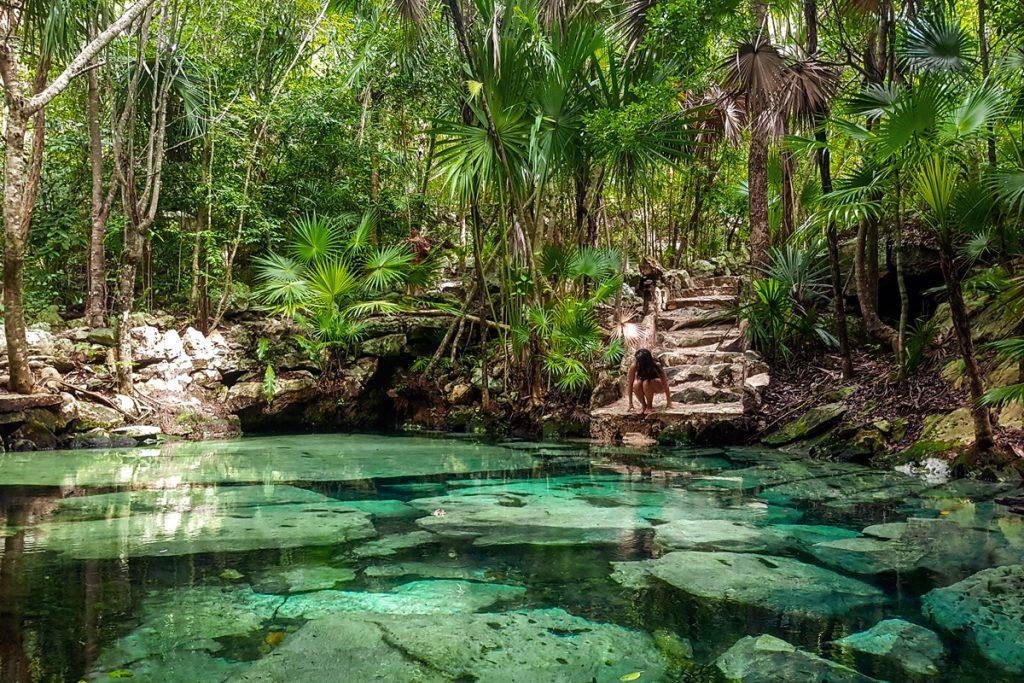 8 Best Cenotes Near Tulum Mexico - Cenote Azul Tulum
