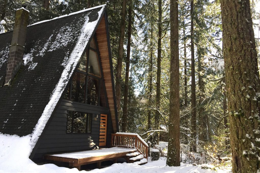 A-Frame Oregon Cabins to Rent - Rancho Relaxo A-Frame Cabin