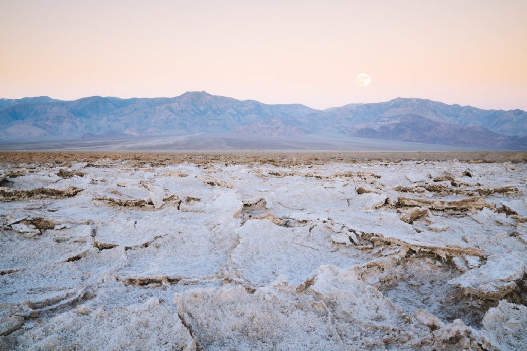 Best National Parks to Visit in Spring - Death Valley National Park - Badwater Basin