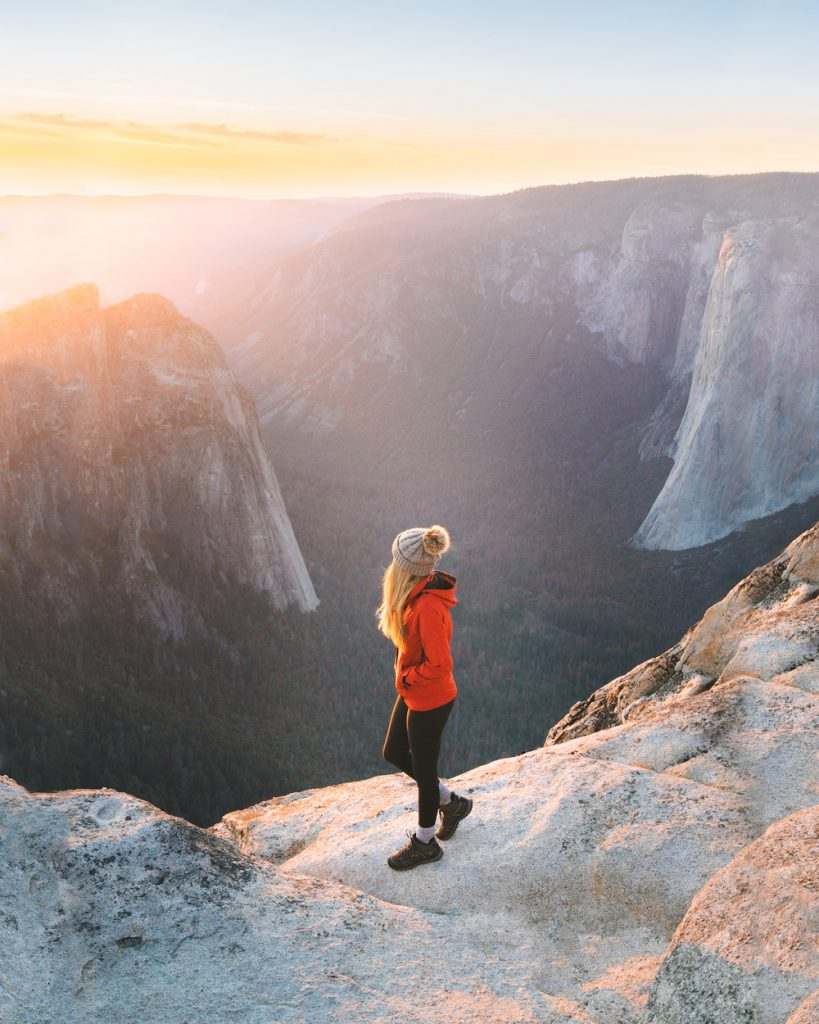 Best National Parks to Visit in Spring - Yosemite National Park Spring Travel Guide - Taft Point
