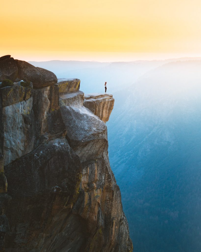 Best National Parks to Visit in Spring - Yosemite National Park - Taft Point