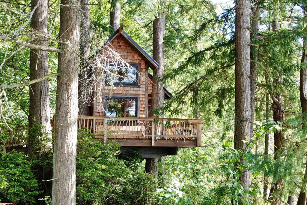 Best Pacific Northwest Treehouse - Eagles Bluff Washington Treehouse