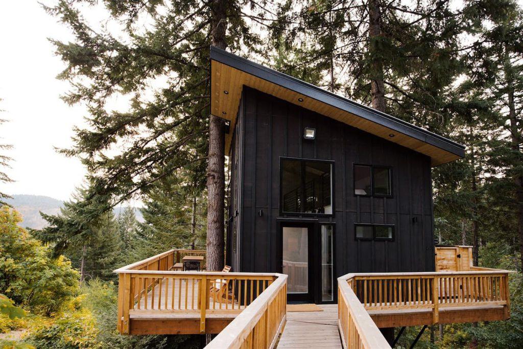 Best Pacific Northwest Treehouse Rentals - Klickitat Treehouse