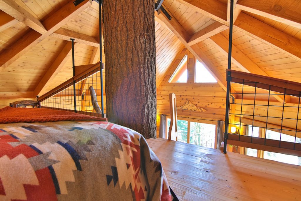 Best Pacific Northwest Treehouse Rentals - Osprey Treehouse