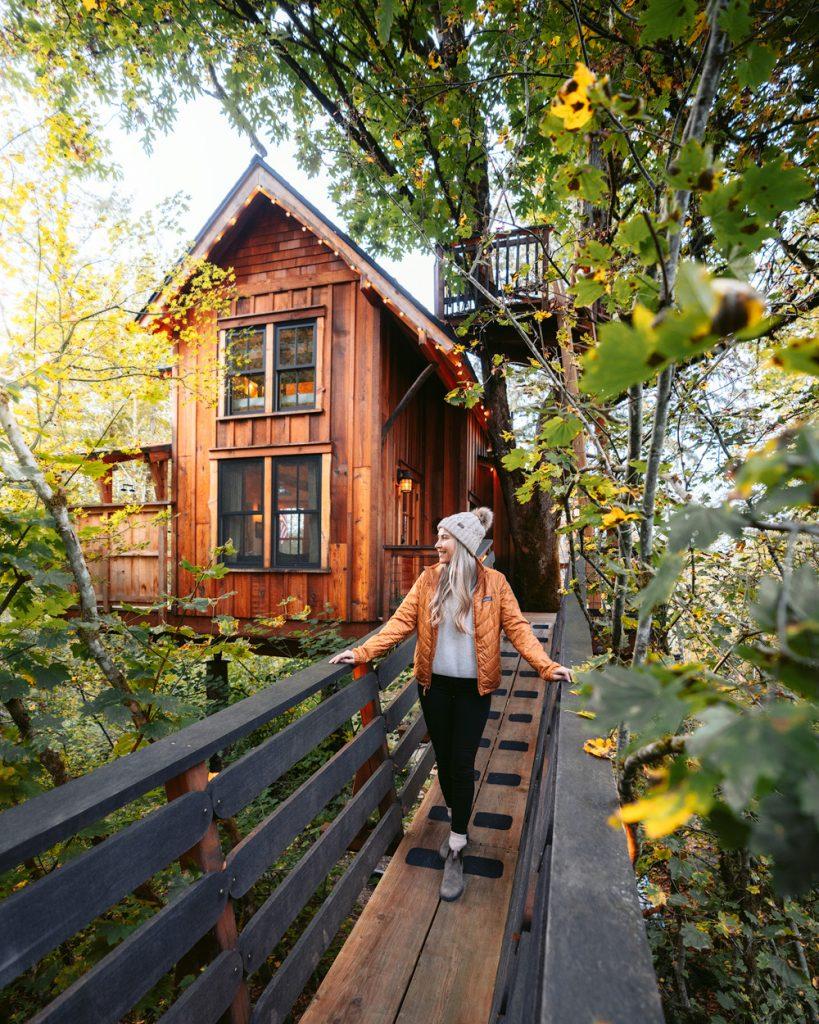 Best Pacific Northwest Treehouse Rentals - Pete Nelson Original Treehouse in Redmond