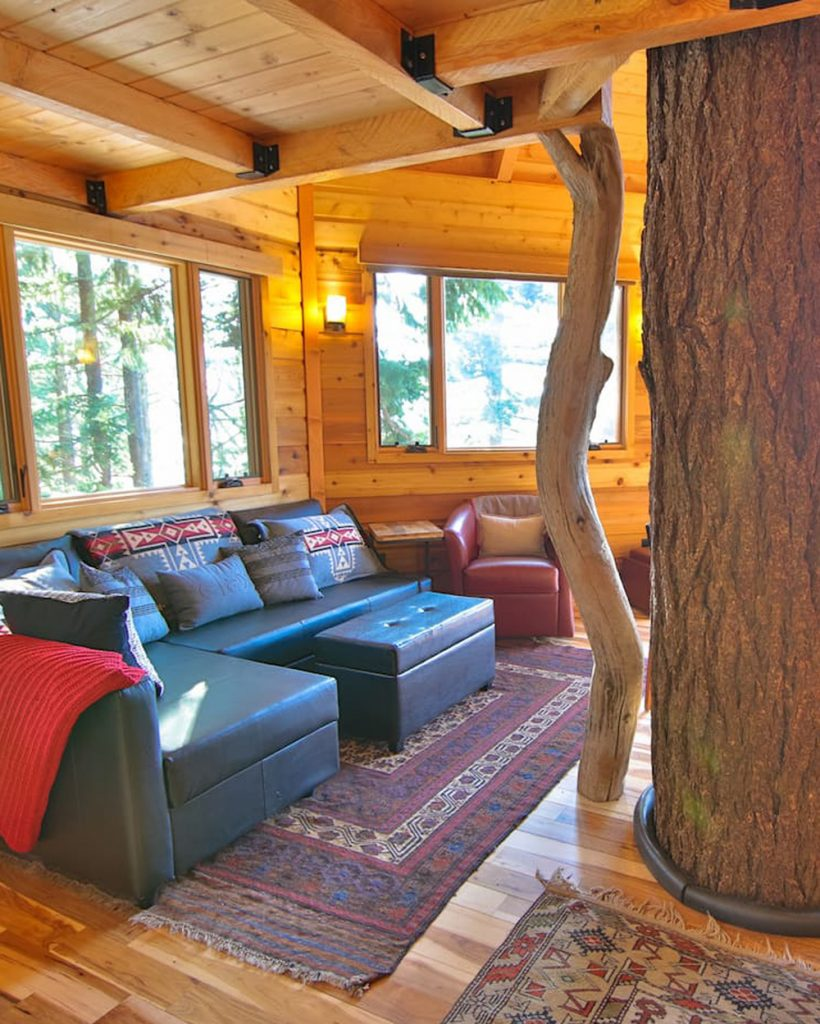 Best Pacific Northwest Treehouses To Rent - Osprey Treehouse