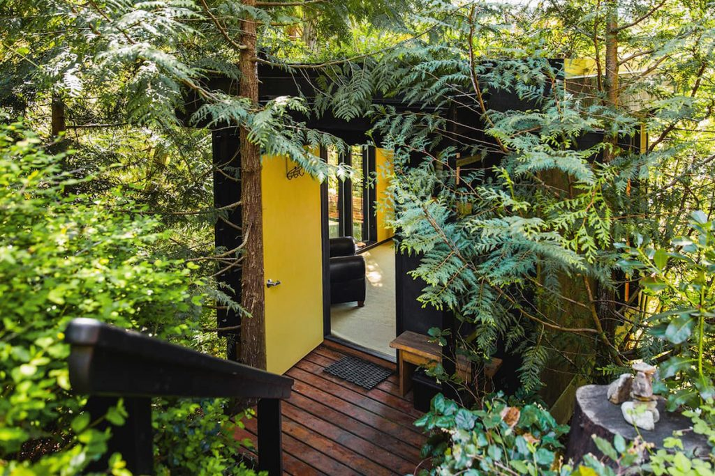 Best Pacific Northwest Treehouses To Rent - Pleasant Bay Lookout - Renee Roaming