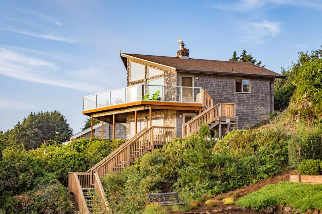 Cabins To Rent On Oregon Coast - Pacific Overlook Cabin
