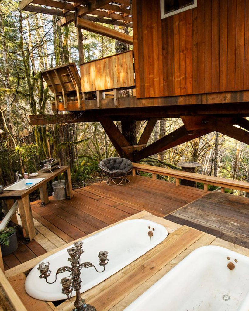 Magical Pacific Northwest Treehouse You Can Rent - Heartland Oregon Treehouse