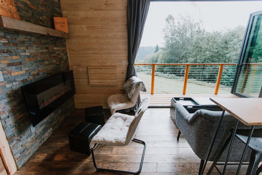 Oregon Cabin to Rent near Mt Hood - Mt Hood View Tiny House