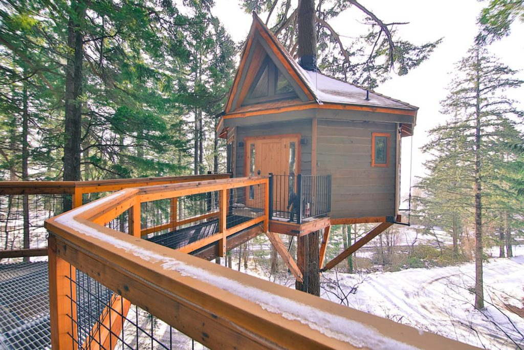 Pacific Northwest Treehouse You Can Rent - Osprey Treehouse