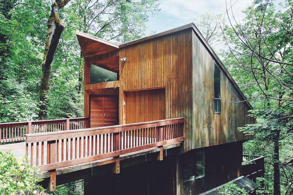 Portland Oregon Treehouse to Rent - Wald House PDX