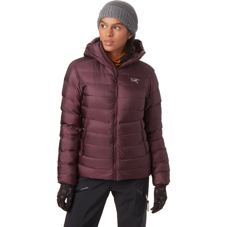 Snowshoeing Tips For Beginners - What To Wear Snowshoeing - Arc'teryx Cerium SV Hooded Down Jacket