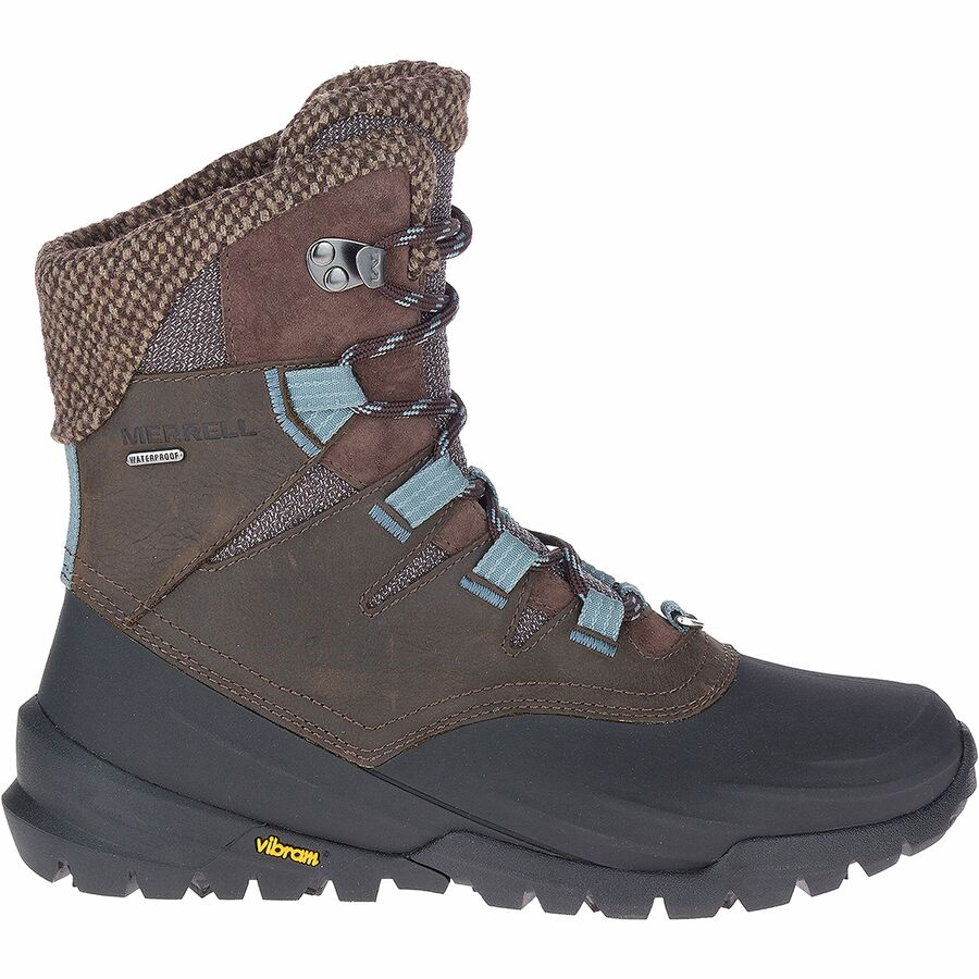Snowshoeing Tips For Beginners - What To Wear Snowshoeing - Merrell Thermo Aurora 2 Mid Shell Waterproof Boot