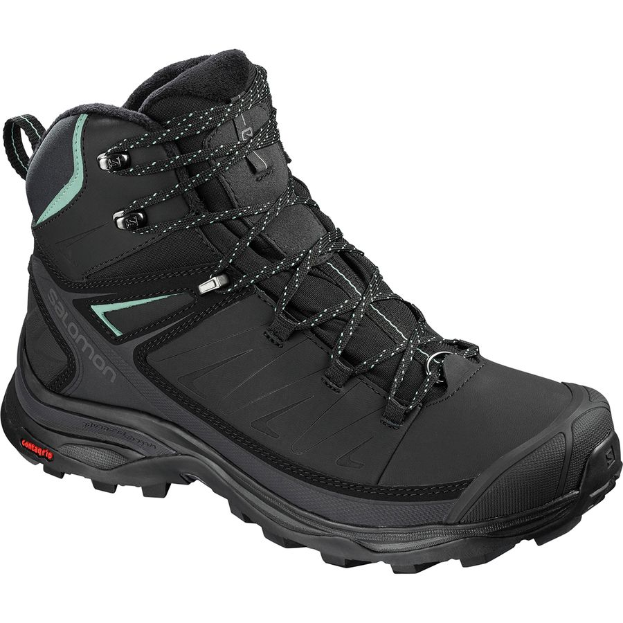 Snowshoeing Tips For Beginners - What To Wear Snowshoeing - Salomon X Ultra Mid Winter CS WP Boot