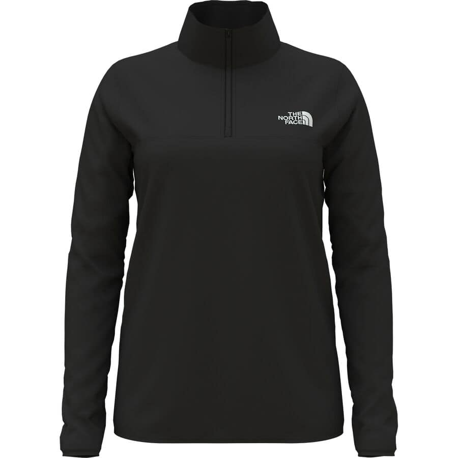 Snowshoeing Tips For Beginners - What To Wear Snowshoeing - The North Face TKA Glacier Zip Fleece Pullover