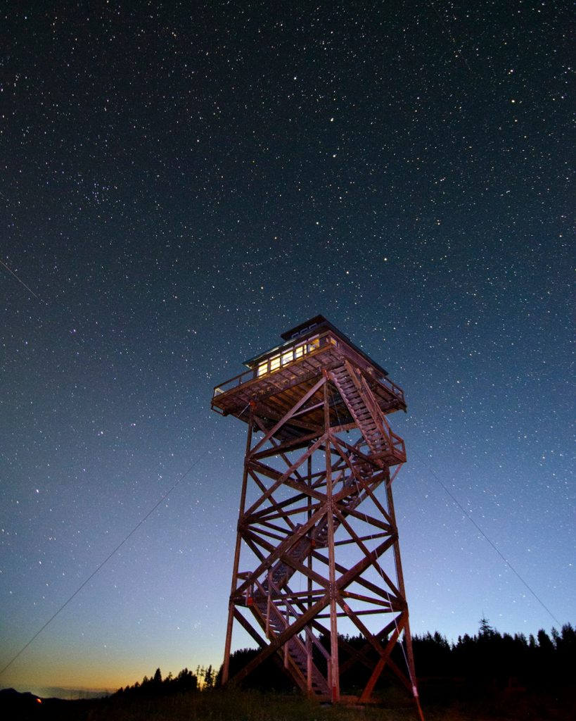 Treehouses You Can Rent In Oregon - Summit Prairie Lookout Tower