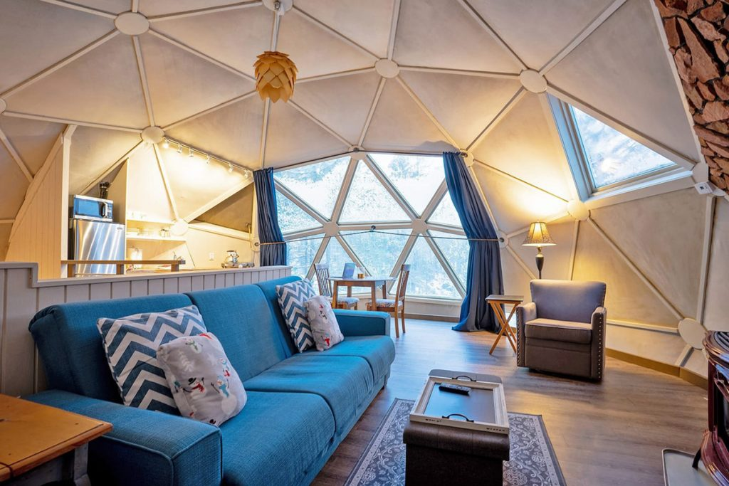 Unique Oregon Cabins To Rent - Dome Sweet Dome Cabin