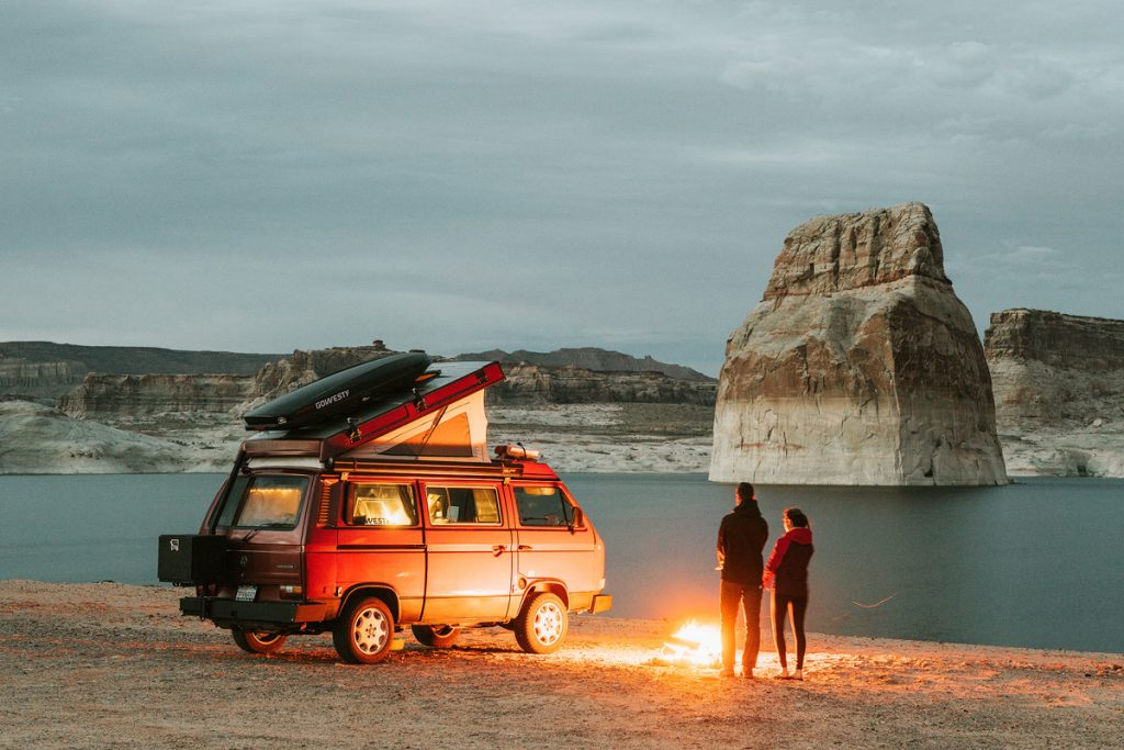 How To Find Free Campsites Across The USA - Vanlife Dispersed Camping
