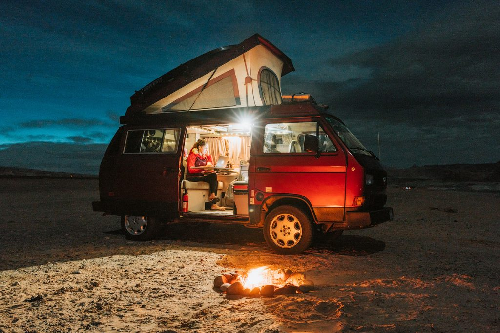 How To Find Free Campsites Across The USA - Vanlife as a Digital Nomad