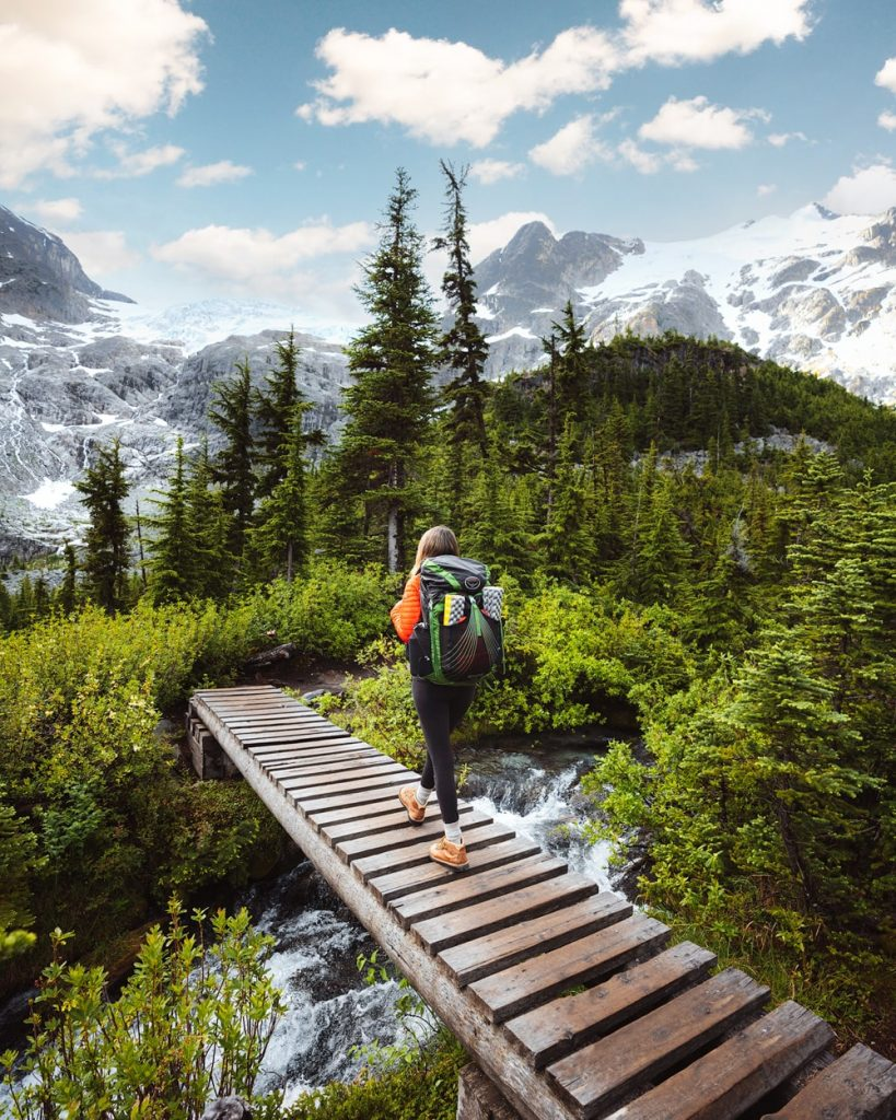 Backpacking to Upper Joffre Lake