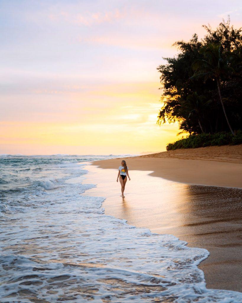 Kauai Hawaii Travel Guide - Best Kauai Beaches - Tunnels Beach