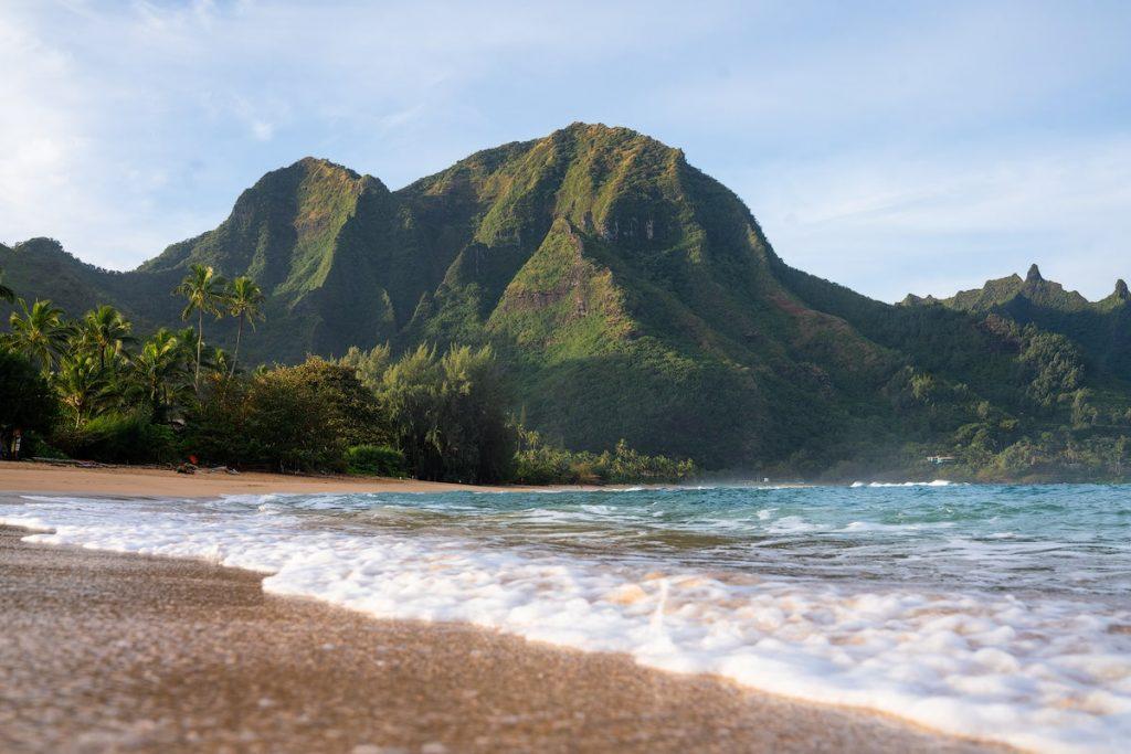 Kauai Hawaii Travel Guide - Best Kauai Beaches - Tunnels Beach Kauai