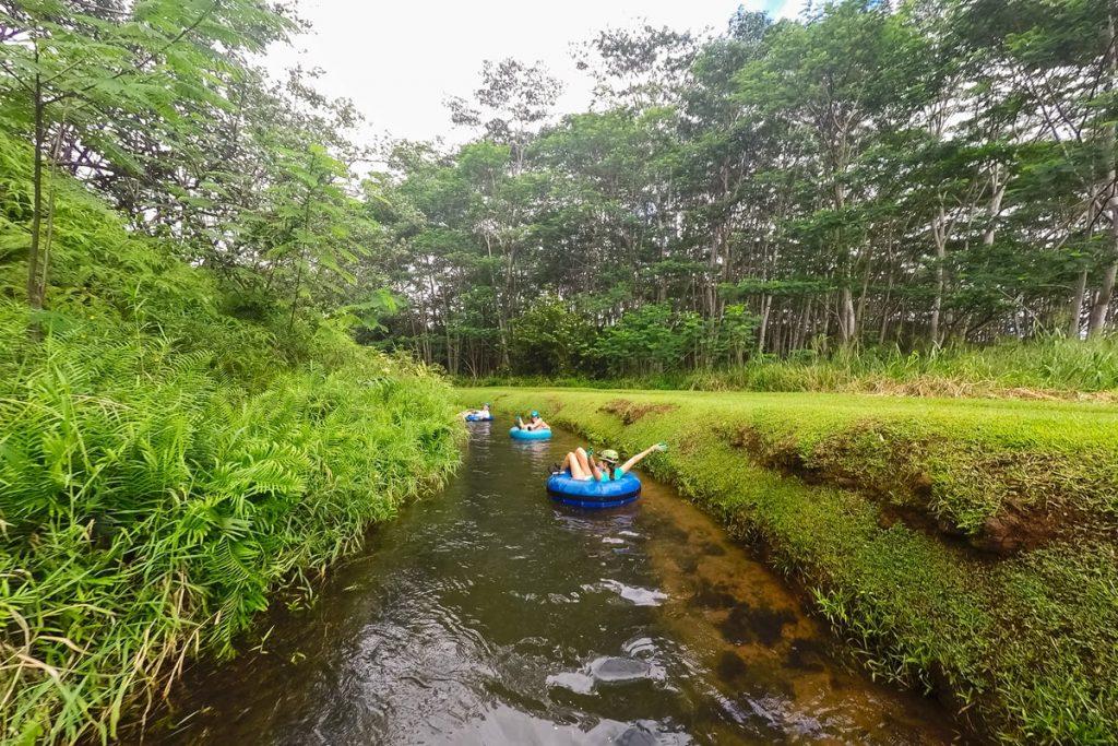 Kauai Hawaii Travel Guide - Best Kauai Outdoor Activities - Mountain Tubing