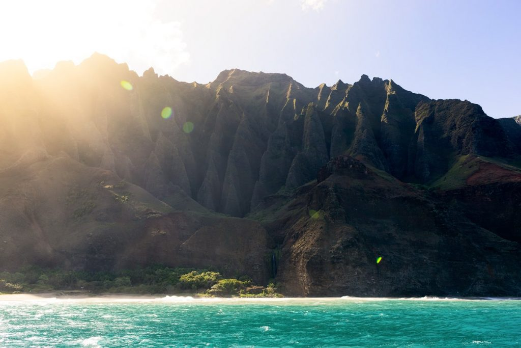 Kauai Hawaii Travel Guide - Boat Tour on NaPali Coast Kauai