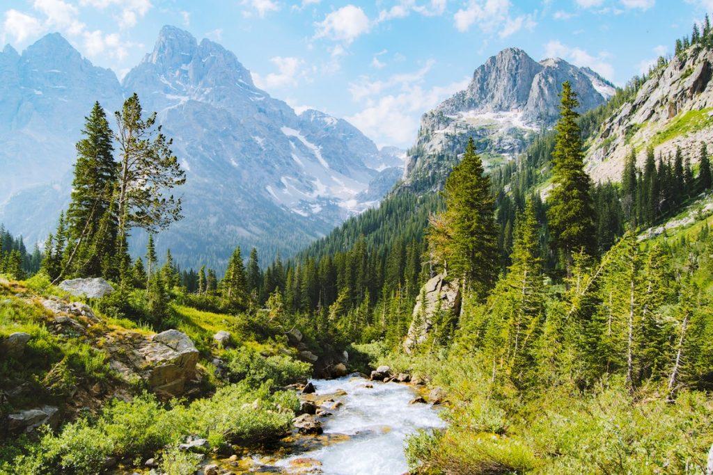 Grand Teton National Park Cascade Canyon